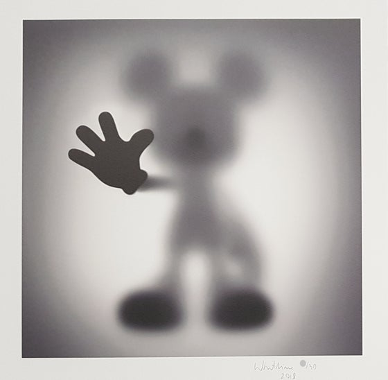 Image of WHATSHISNAME - GONE MICKEY - LTD EDITION 30 - 35CM X 35CM