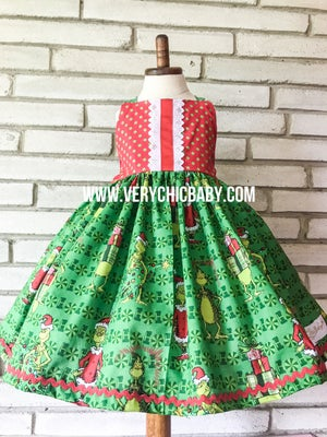 Image of The Grinch Holiday Dress