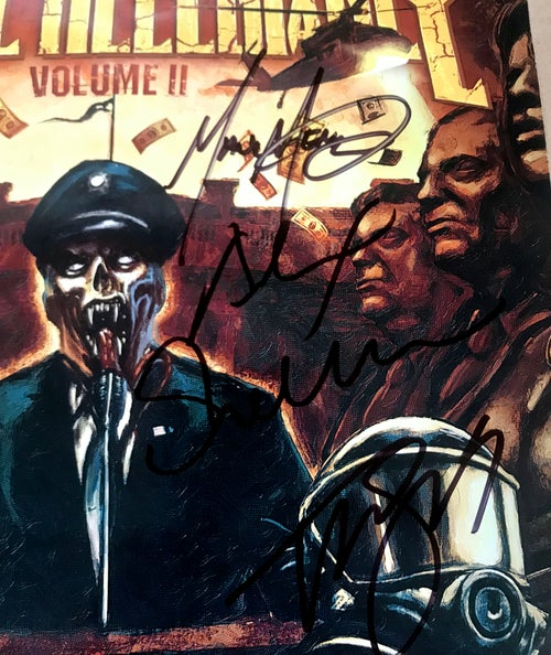 Image of Volume II Power Drunk Majesty Signed Poster