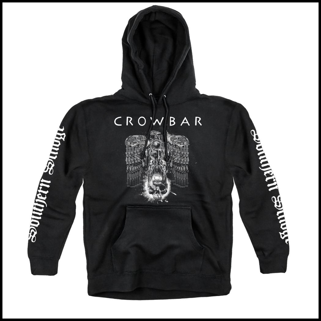 Image of CROWBAR 3 SIDED SOUTHER SLUDGE PULLOVER HOODED SWEATSHIRT