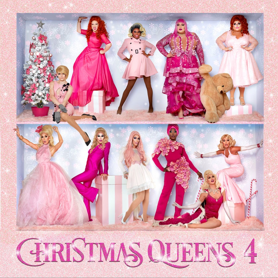 Image of Christmas Queens 4 CD
