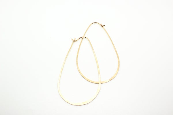 Image of TIA teardrop earrings