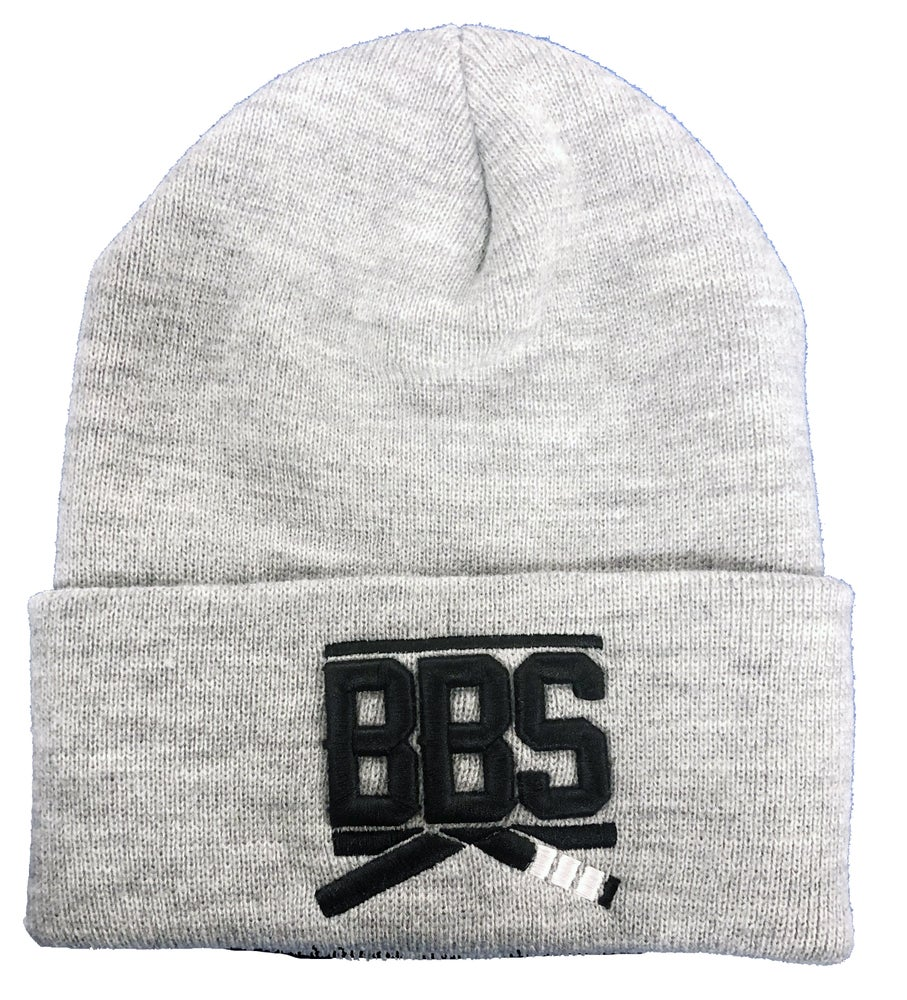 Image of 3-D Beanie - Gray