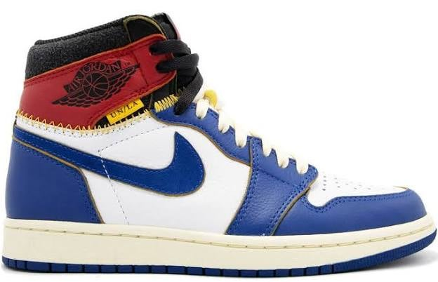 88c8490a899 Image of Jordan 1 Retro High Union Los Angeles Blue Toe