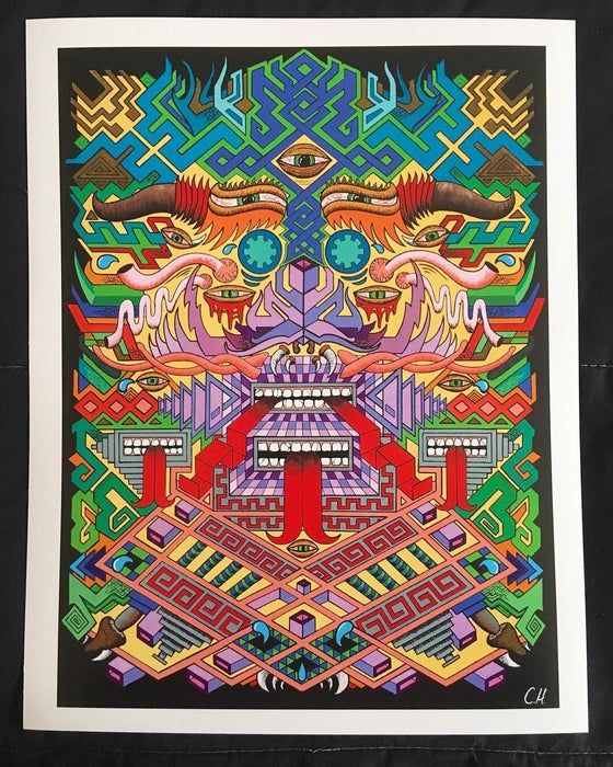 Image of Master of Creations paper print