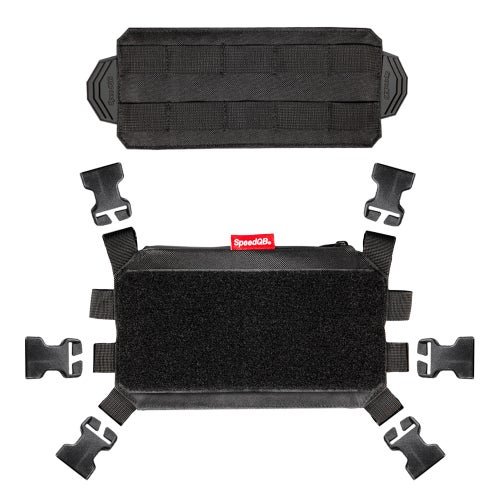 Image of SpeedQB Nucleus Chest Rig (NCR) - Void Black