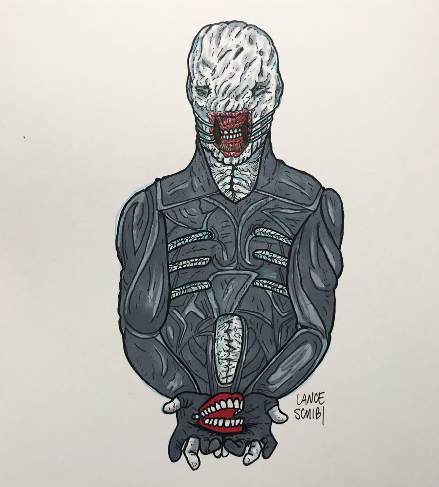 Image of DRAW IN HORROR 2018: HELLRAISER Original