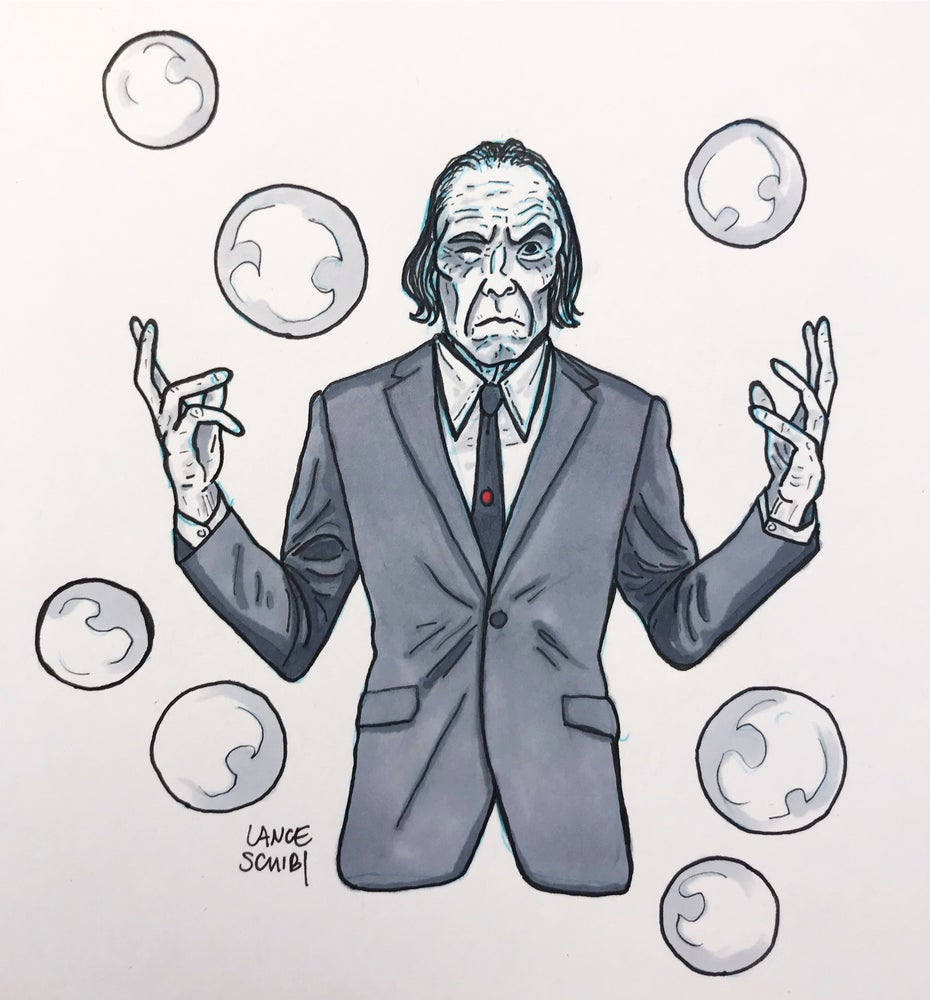 Image of DRAW IN HORROR 2018: PHANTASM Original