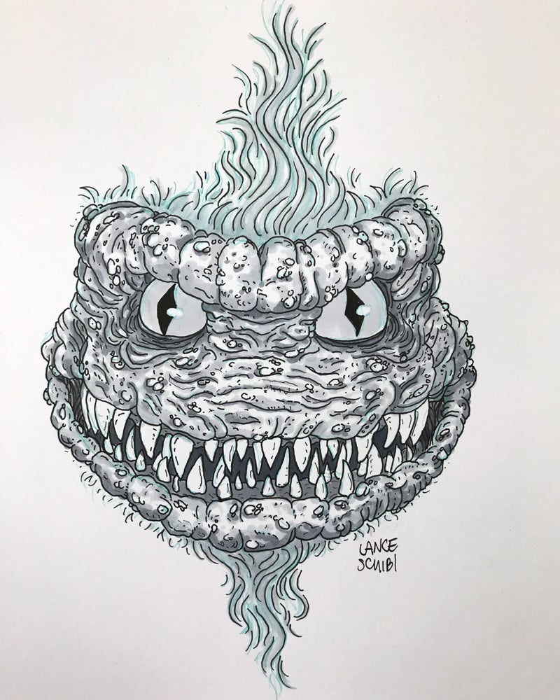 Image of DRAW IN HORROR 2018: CRITTERS Original