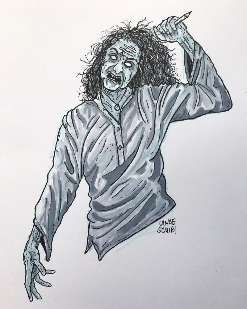 Image of DRAW IN HORROR 2018: THE EVIL DEAD Original