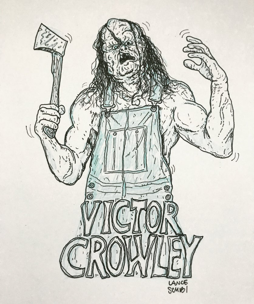 Image of VICTOR CROWLEY Original