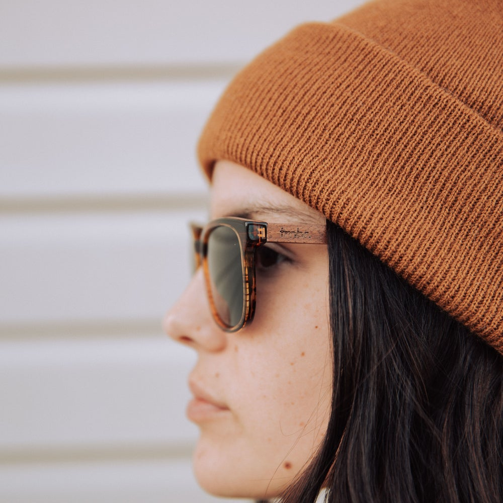Image of Copper Knit Cuff Beanie