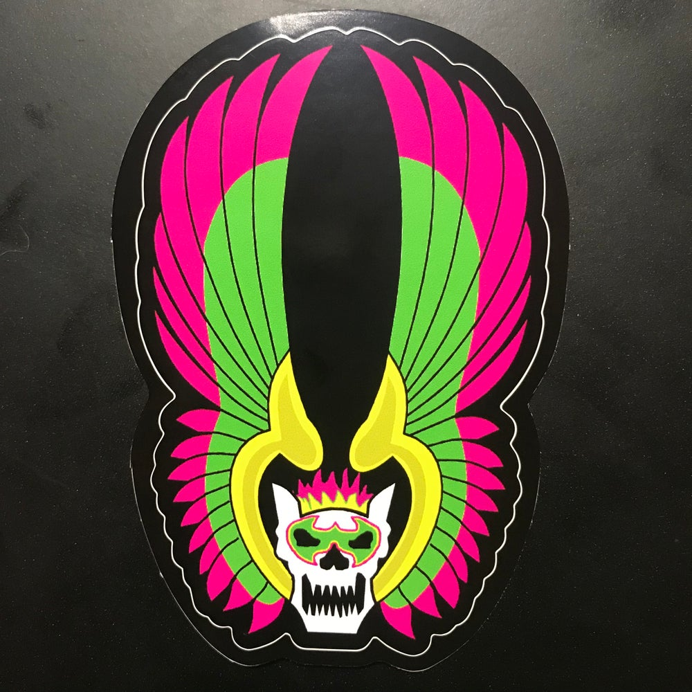 Image of FOR THE TITLE WARRIORS Die Cut Sticker