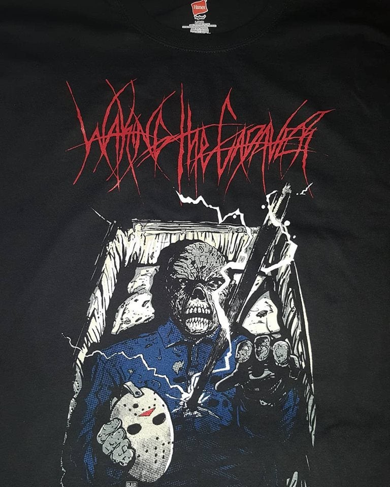 Image of WAKING THE CADAVER EXCLUSIVE T SHIRT (IN STOCK)