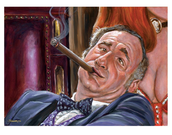 """Image of """"Lepetomaine Rests"""" Print (inspired by Mel Brooks and """"Blazing Saddles"""")"""