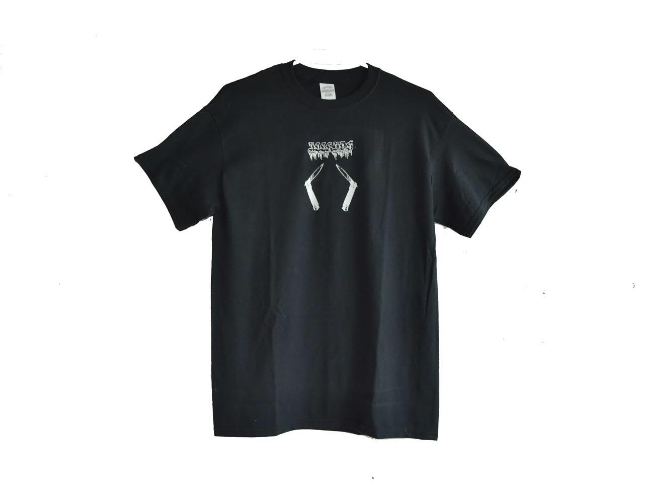 "Image of ""SUSPECT"" - T-SHIRT (BLACK)"