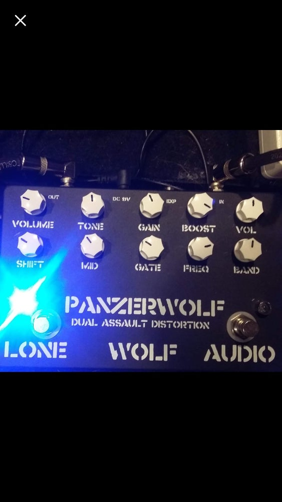 Image of Panzerwolf Distortion pre order run 2