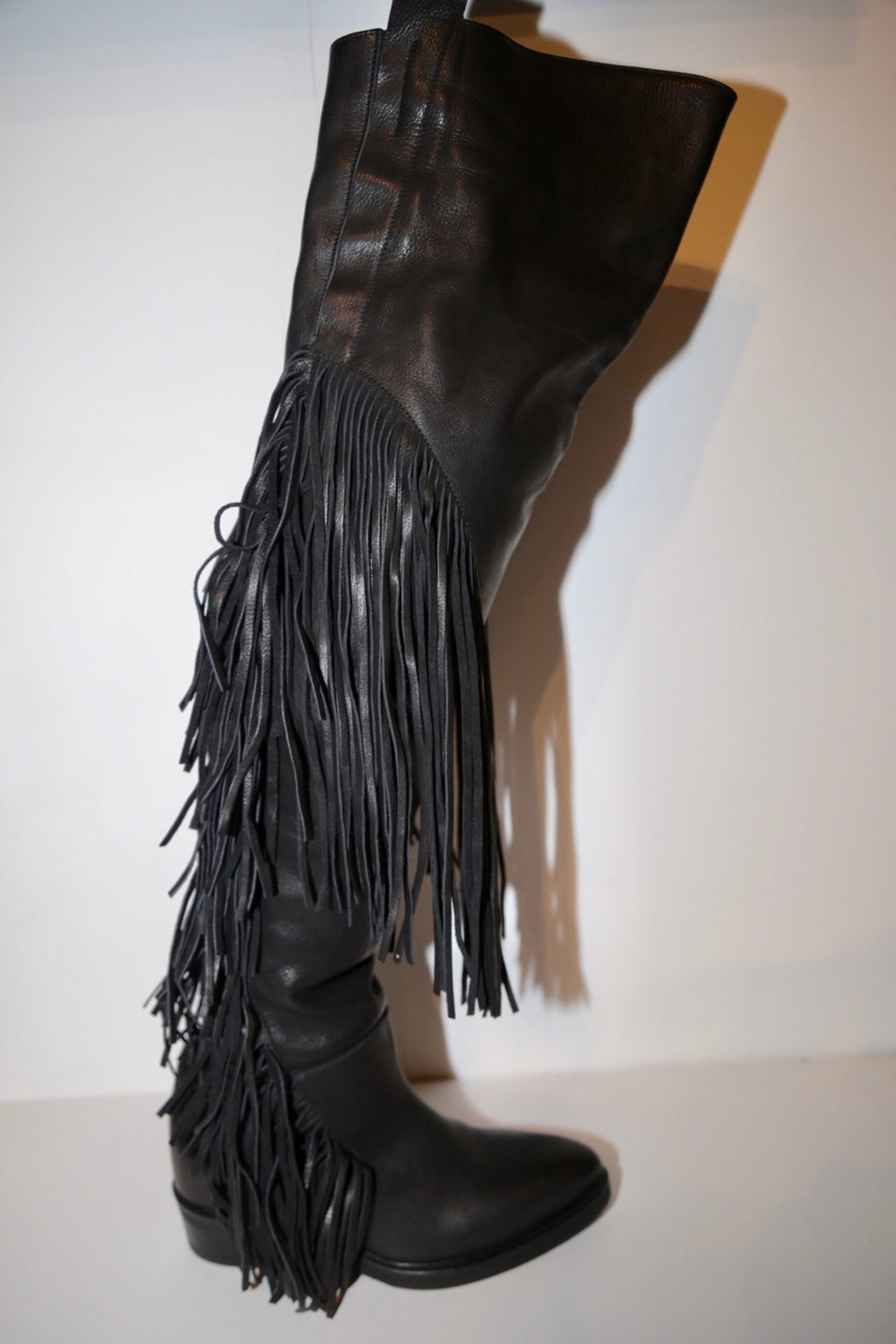 Image of CINZIA ARAIA OVER THE KNEE BOOTS