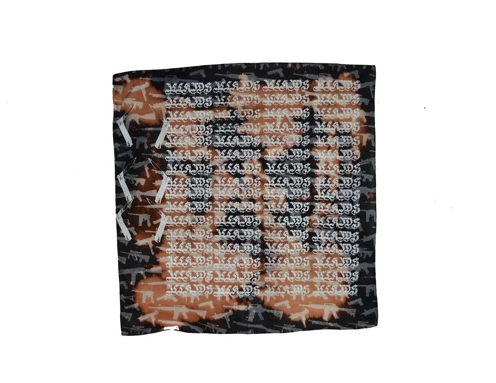 "Image of ""WARINMYHEAD"" - BANDANNA (ACID WASH)"