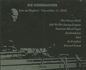 Image of Die Kombination - Live At Mayhem (ES012)