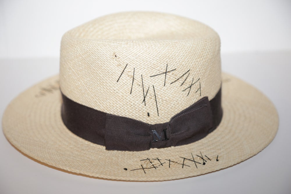 Image of MAISON MICHEL STRAW HAT