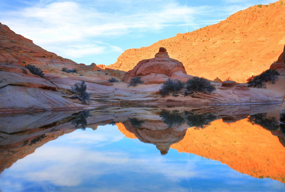 Image of Coyote Buttes Reflections
