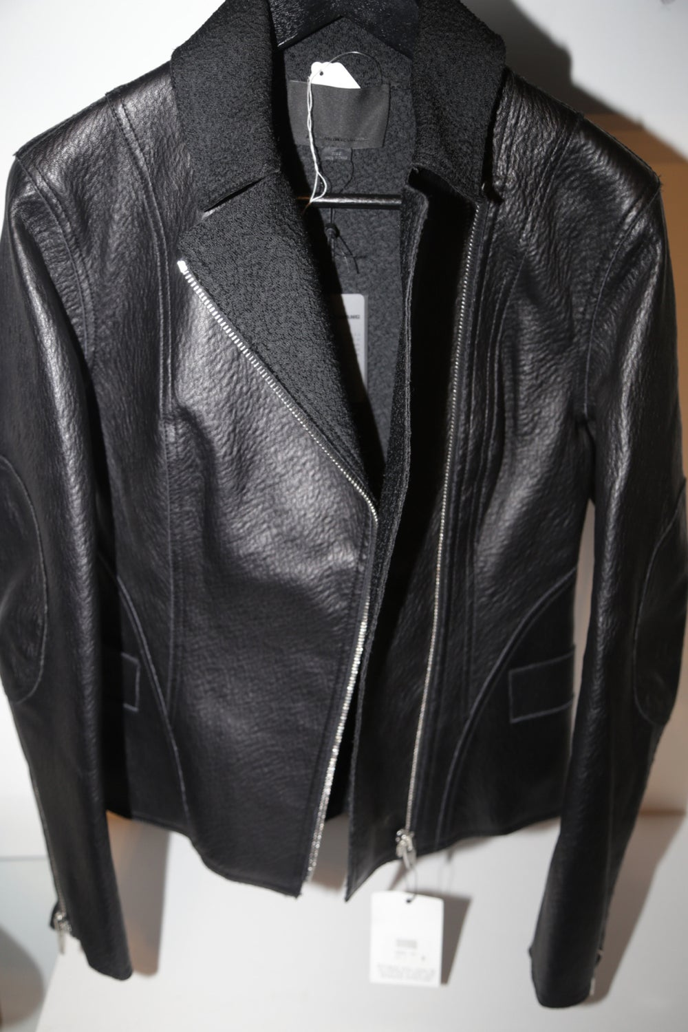 Image of ALEXANDER WANG LEATHER JACKET
