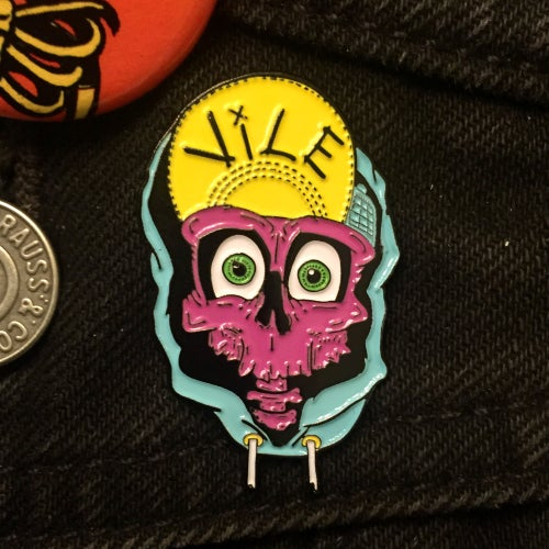Image of VILE Enamel Pin