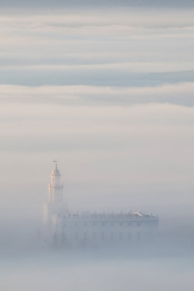 Image of St. George Temple Fog