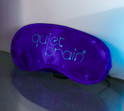 Image of Quiet Brain Sleep Eye Mask Set