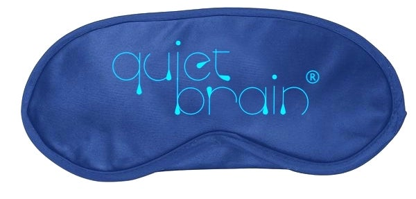 Image of Quiet Brain Satin Sleep Eye Mask