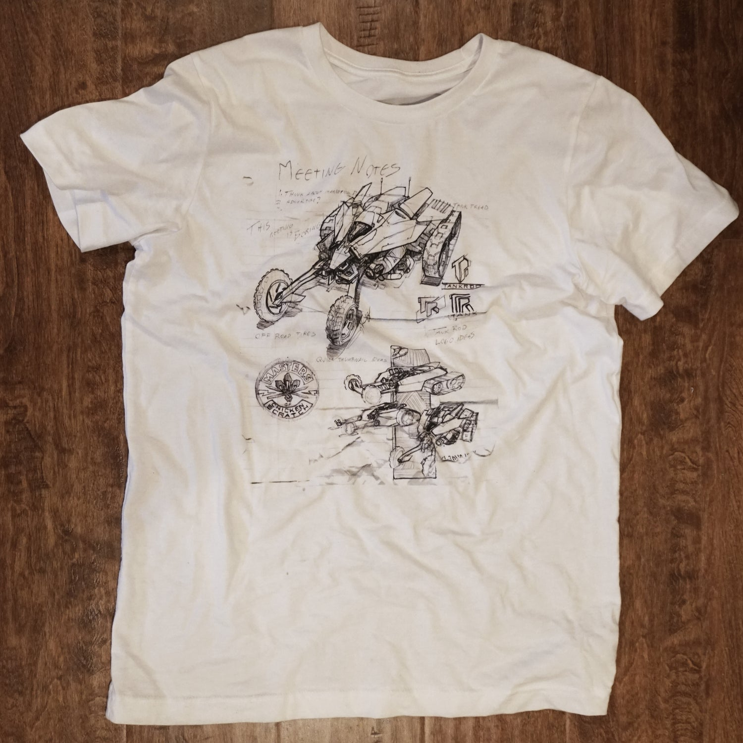 Image of Meeting Notes T-shirt