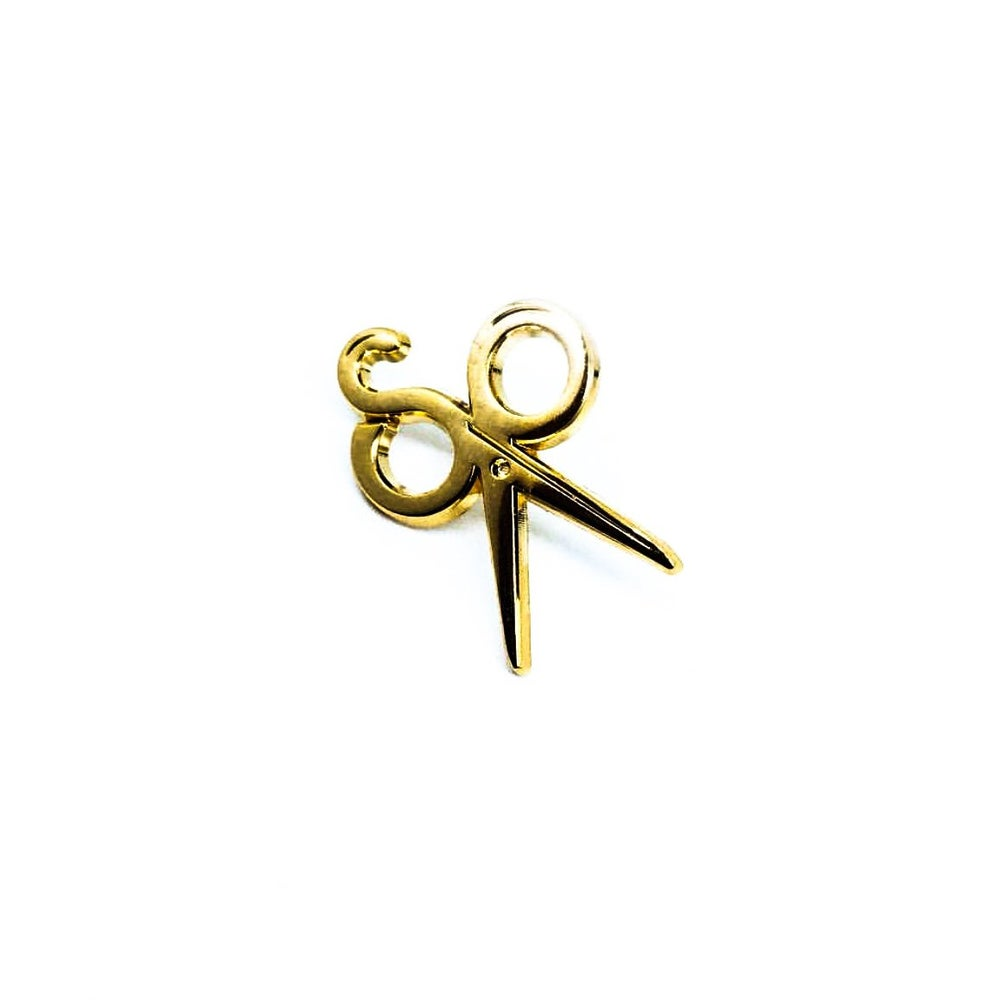 "Image of Scott Ramos ""S.R."" Micro Scissor Pin."