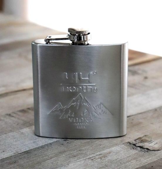 44º North® Vodka Potato Flask