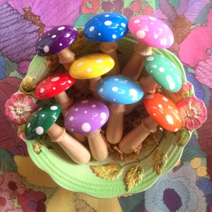 Image of Handmade Darning Mushroom