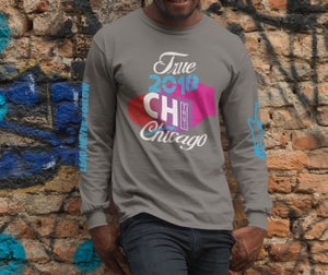 Image of 18 True Chicago Leaders x GRPFLY premium long sleeve