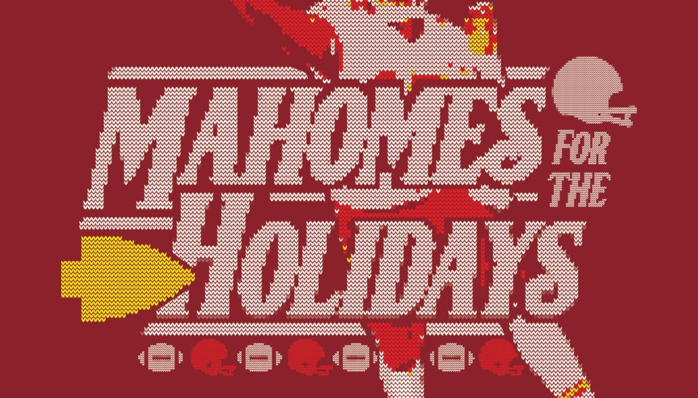 Image of PREORDER: Mahomes for the Holidays