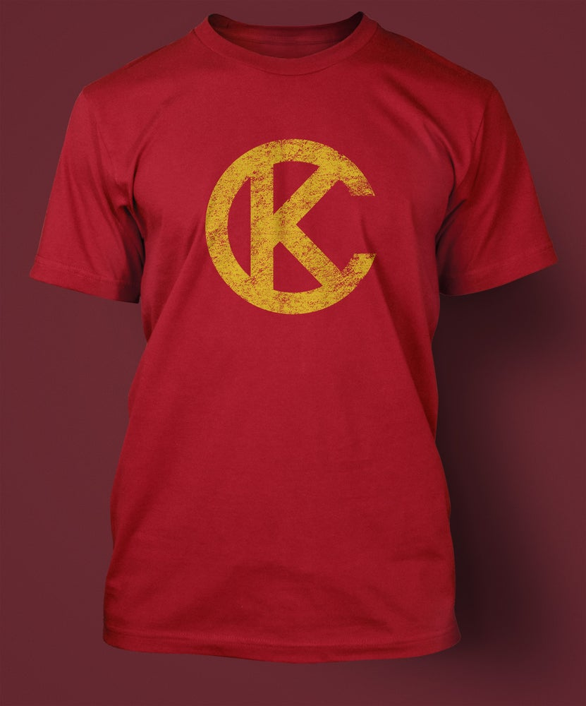 Image of Loyalty KC Red & Gold Shirt