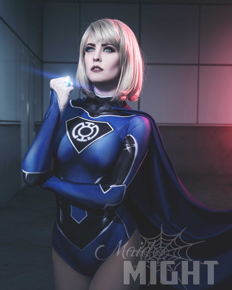 Image of Blue Lantern Supergirl