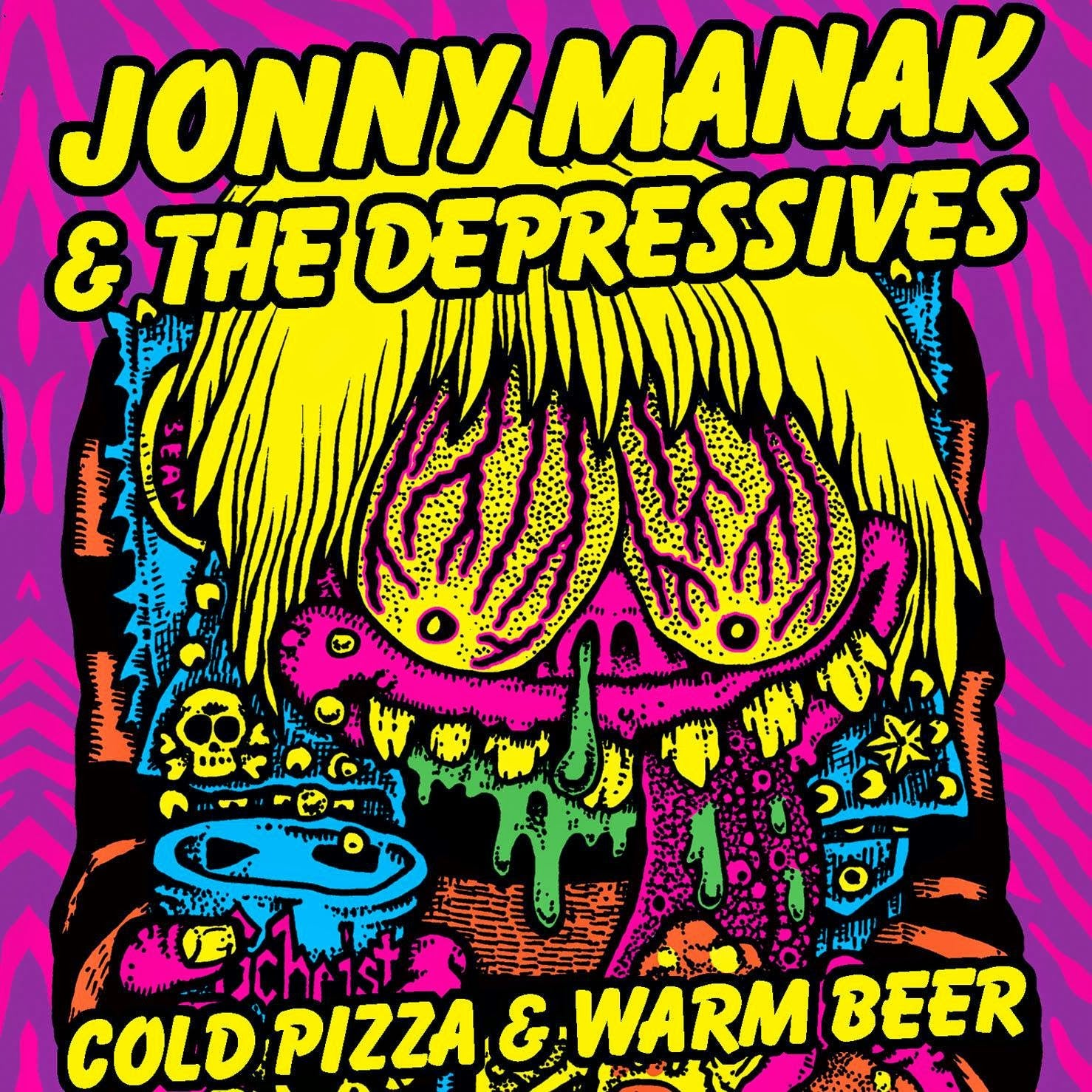 "Image of Cold Pizza and Warm Beer 12"" Vinyl Record"
