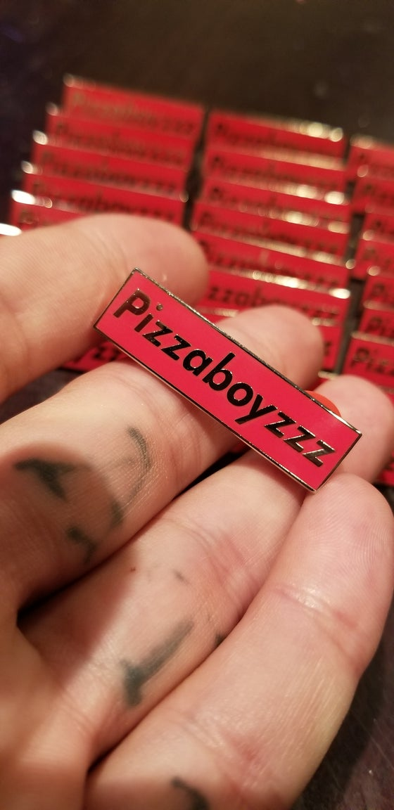 Image of Pizza box boyzzz pin