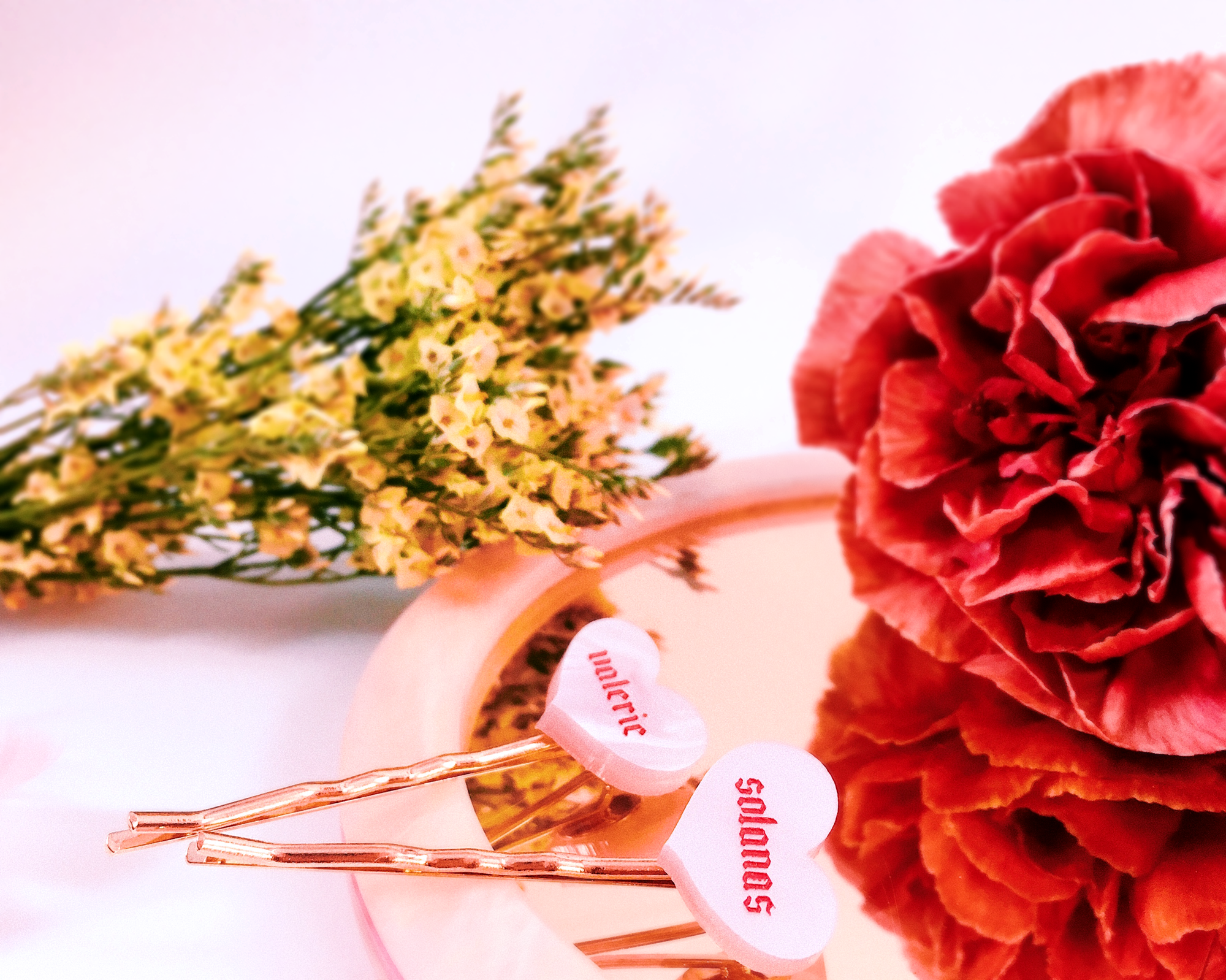 Image of Personalized hairpins