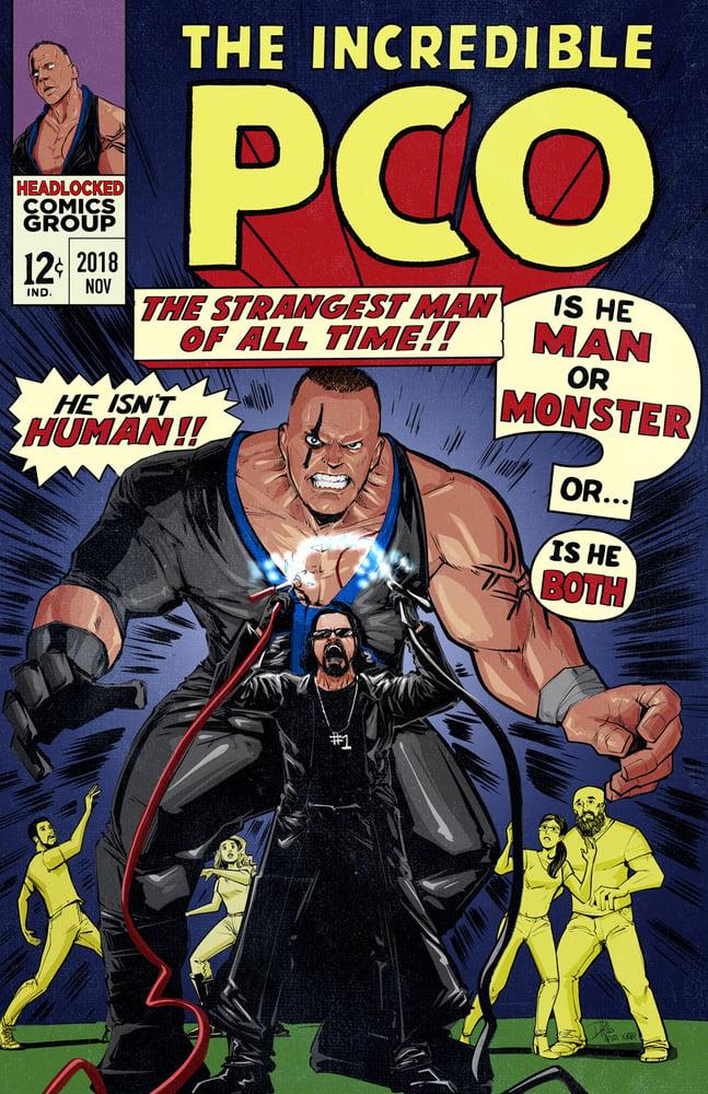 Image of PCO/Hulk Mashup Art Print