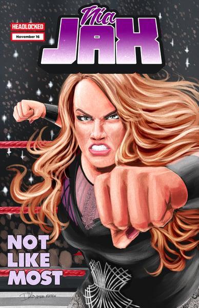 Image of Nia Jax/She-Hulk Art Print