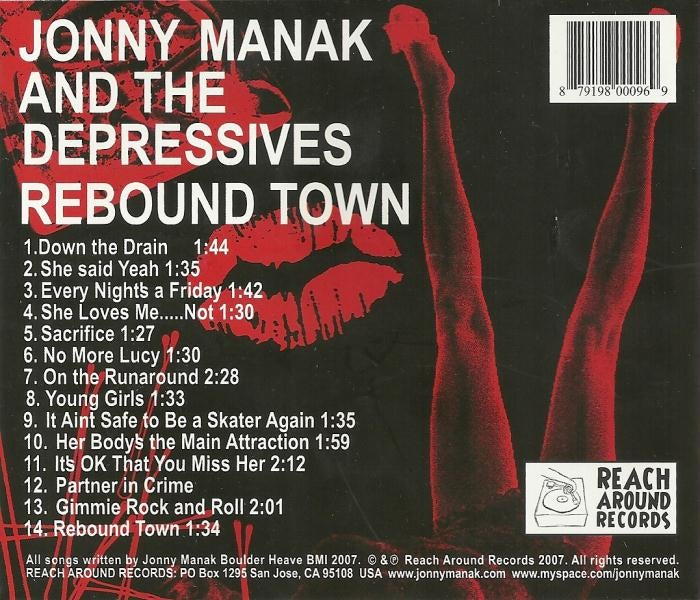 "Image of Rebound Town 12"" Vinyl Record"
