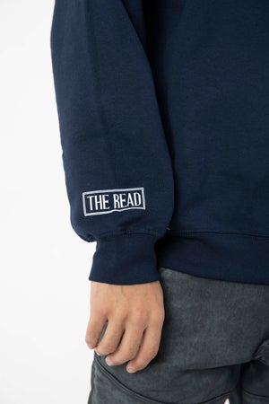 Image of Break Up With Him Navy Crewneck