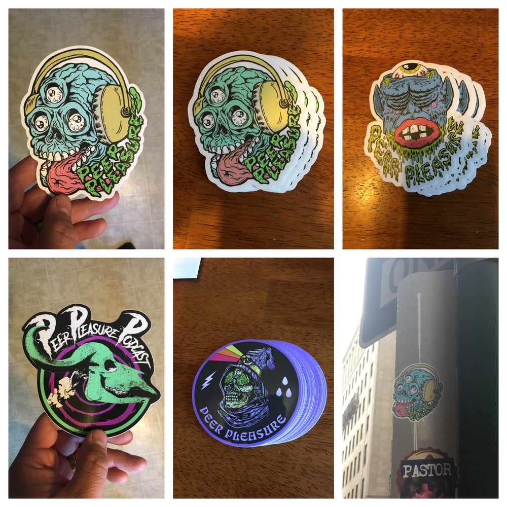 Image of Individual Stickers