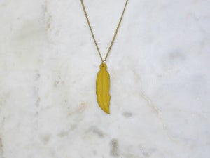 Image of RC Warrior Feather Necklace