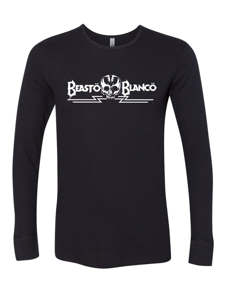 "Image of OFFICIAL - BEASTO BLANCO - ""SKULL"" BLACK THERMAL"