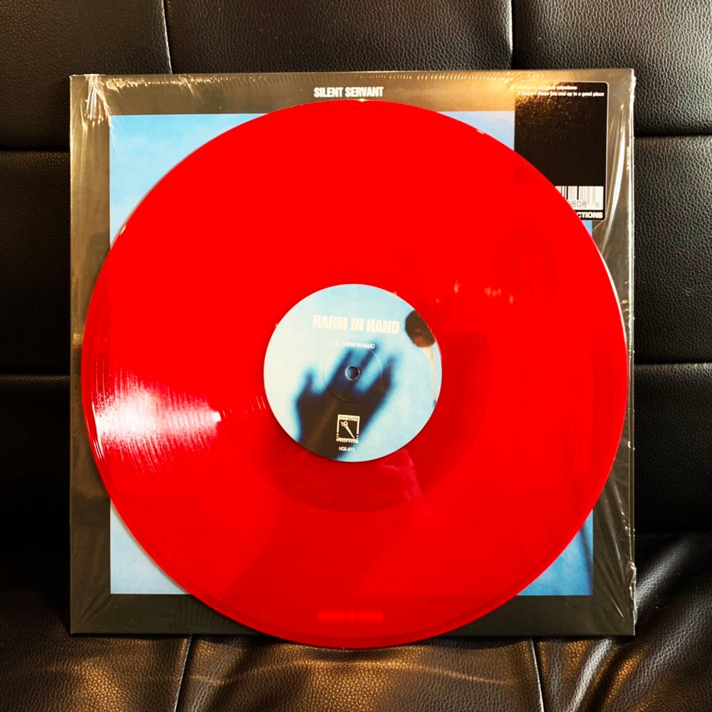 """Image of SILENT SERVANT """"Harm In Hand -EXCLUSIVE LTD. 100 RED VINYL EDITION-"""""""
